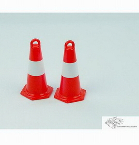 [94220139] 스케일 악세사리 안전용품 삼각 칼라 콘