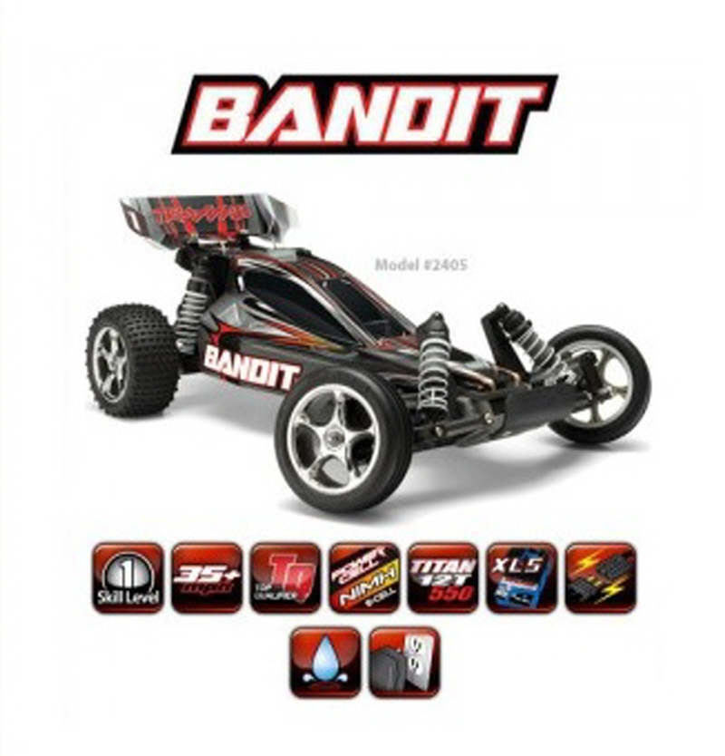 CB2405 Bandit XL-5 - 1/10 Extrime Sports Electric Buggy