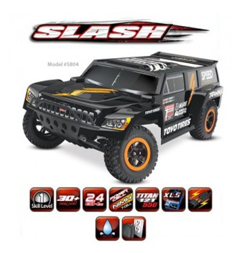 CB5804 1/10 Robby Gordon Dakar Edition - Dakar Series Race Truck (TQ 2.4GHz, XL-5 ESC)