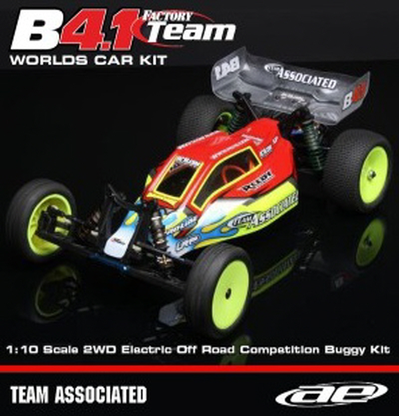 AAK9040 RC10B4.1 Factory Team Worlds Car