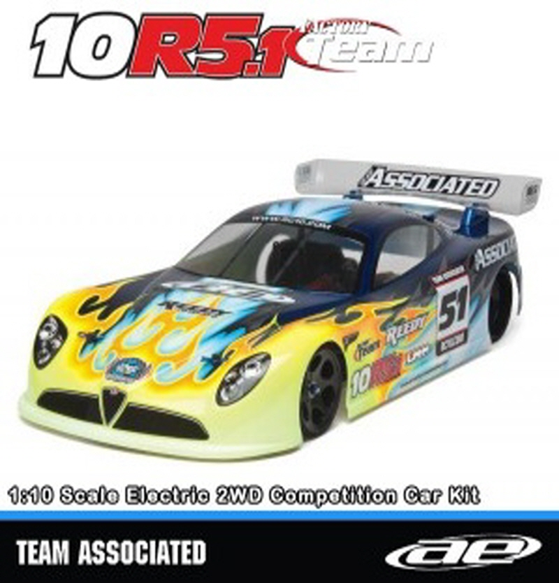 AAK8022 RC10R5.1 Factory Team Kit