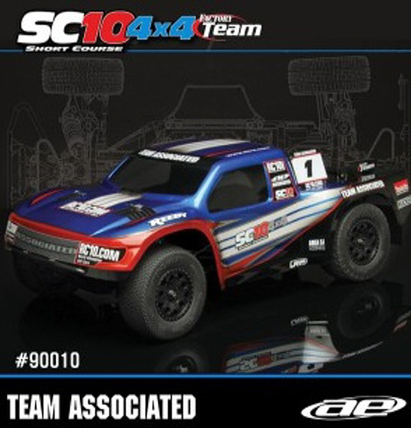AAK90010 SC10 4x4 Factory Team Kit
