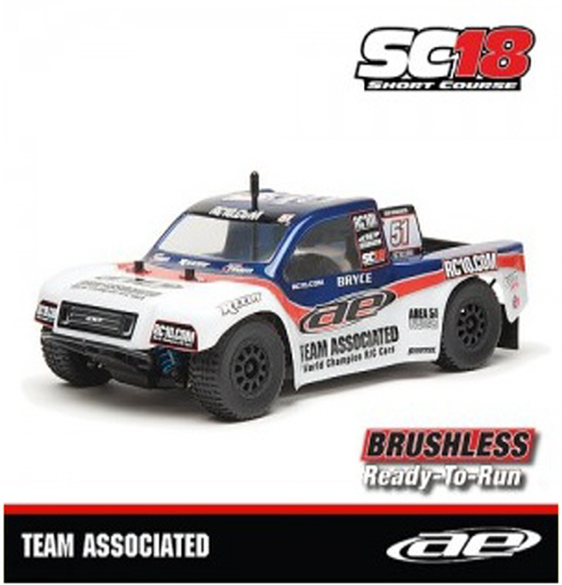 AAK20121 SC18 Brushless RTR