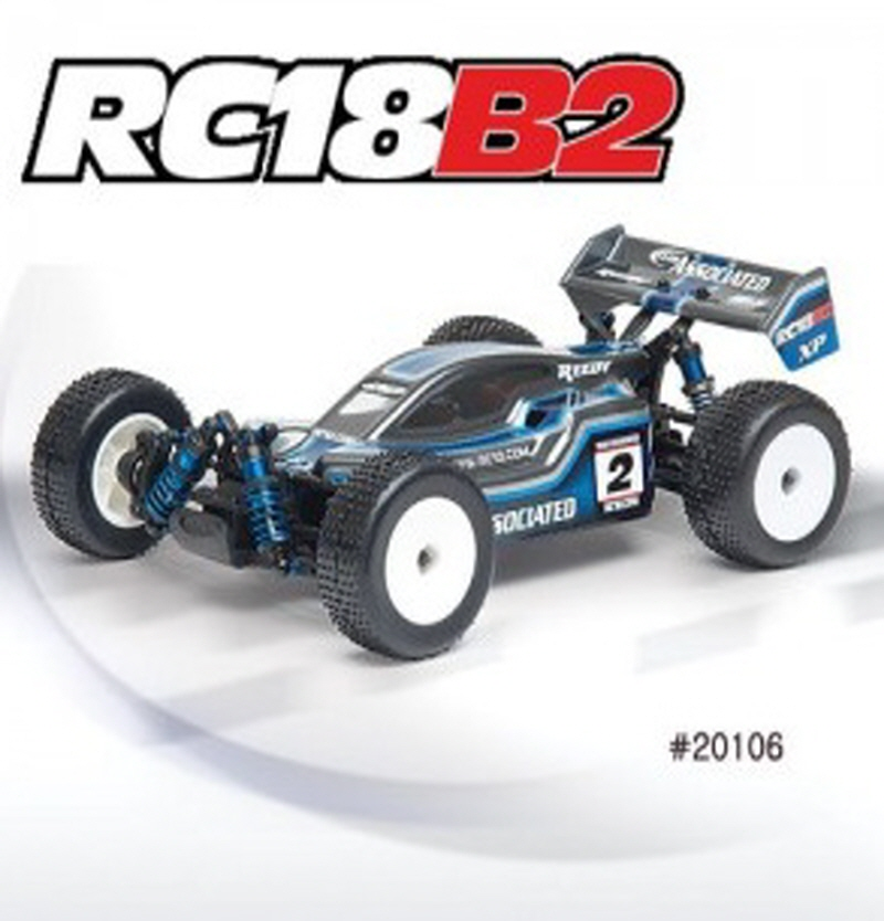 AAK20106 RC18B2 Ready-To-Run / 2.4 GHz RTR