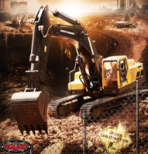 [VV-JD00016] 1/1​4​ Scale Earth Digger 360L Hydraulic Excavator (송수신기제외)