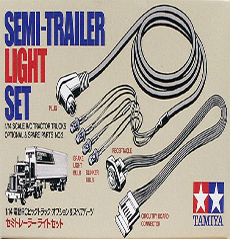 [56502] RC Semi-Trailer Light Set