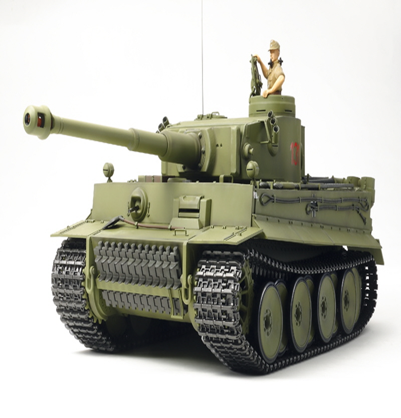 [84273] RC Tiger I Early Production - Full Option Kit w/Detail Up 1/16
