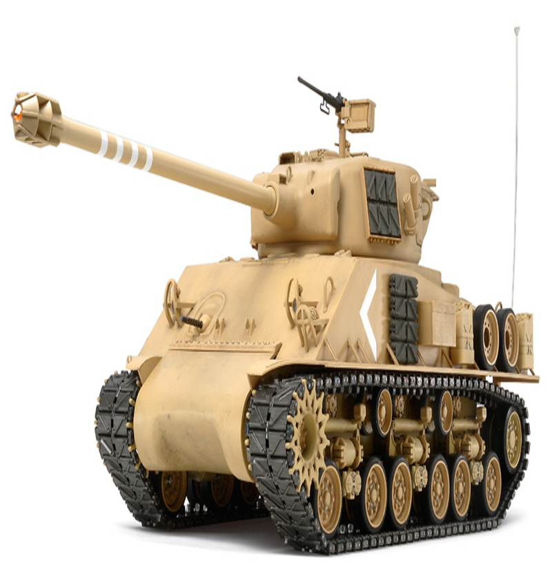 [56032] RC Super Sherman - Full Option Kit 1/16