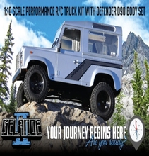 [Z-K0001]Gelande II Truck Kit w/Defender D90 Body Set